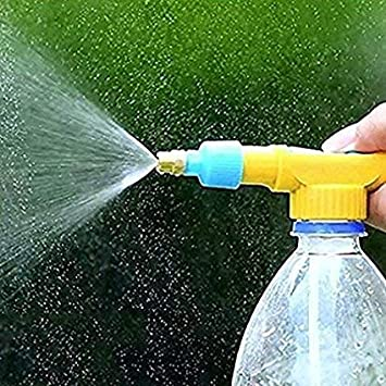 T2 Enterprises Bottle Spray Gun For Water Pesticide Car Wash Brass Nozzle Sprayer