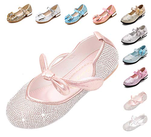 Kikiz Little Girl's Princess Dress Shoes 10 M US Toddler ()
