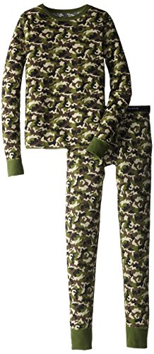 - Hanes Big Boys' Thermal Underwear Set, Camo, Small/6-8