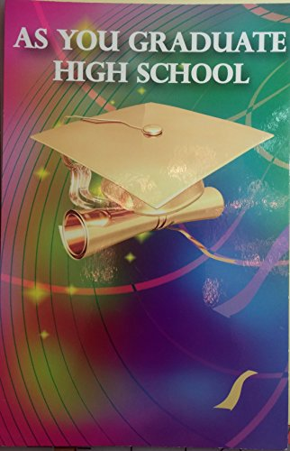 As You Graduate High School Greeting Card Congratulations Graduation (Throreau Poem)