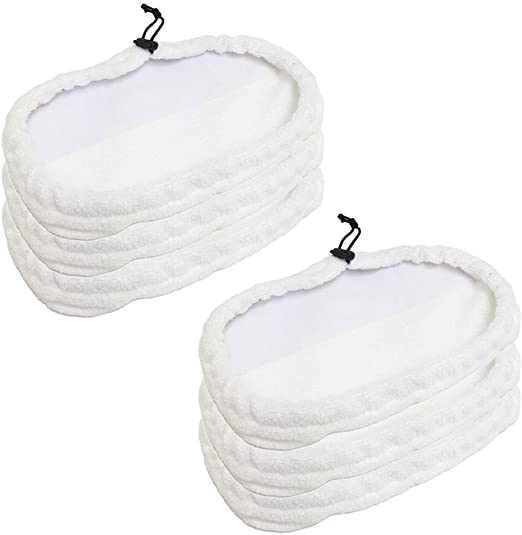 2 pack Replacement Pad for Bissell Steam Mop Pad 1867 203-2158 3255 Washable