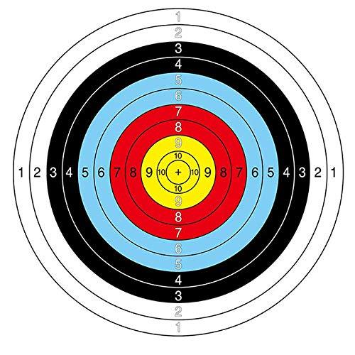Cnc Board Training (CNC INC Archery Rifle Pistol Target Paper Dart Targets Gauge Shooting Target Paper Archery Dart Training Paper Accessory)