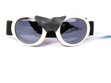lunettes de soleil rondes verres ronds pour moto route motard protection  homme femme g128 (monture 313ab7619507