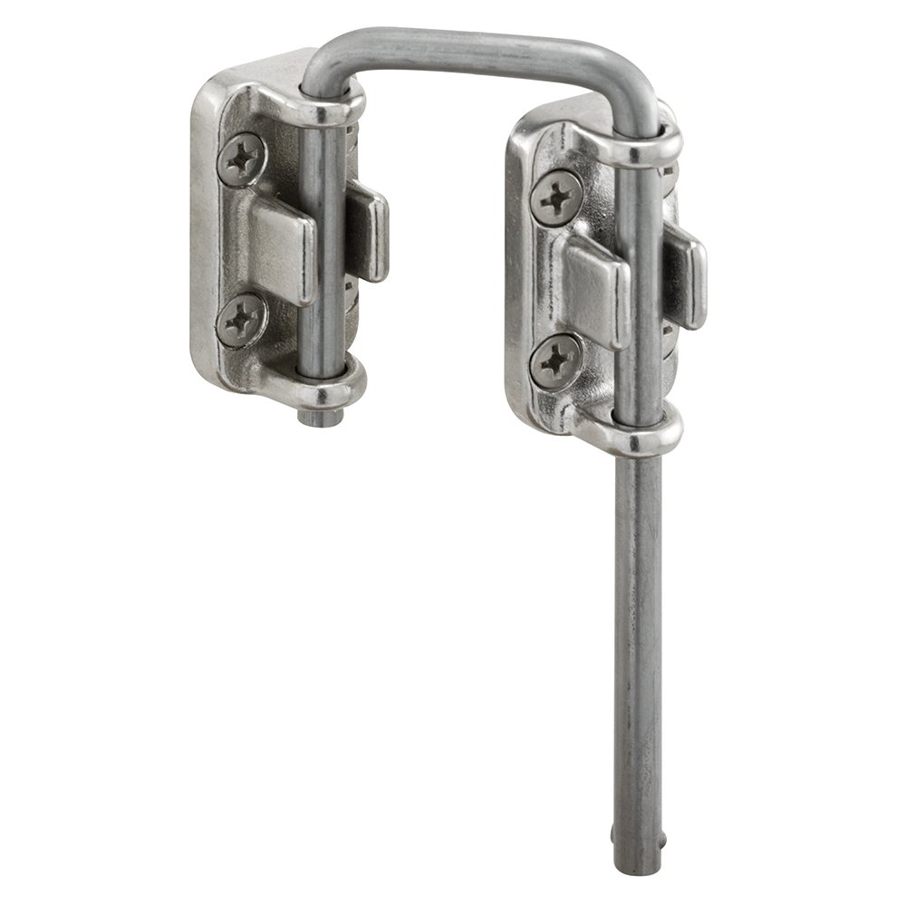 Defender Security S 4382 Sliding Door Loop Lock, 1-3/4 Inch, Stainless Steel Construction, Pack of 1