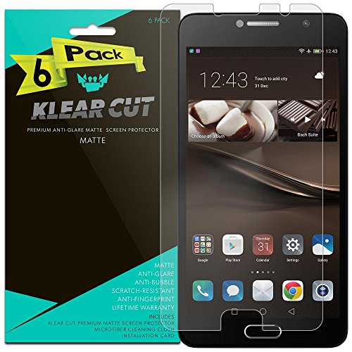 Tempered Glass For Alcatel Flash Plus 2 with Free Back Case (Blue) - 1