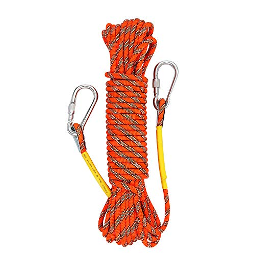 e 10M(32ft) 20M(64ft) 30M (98ft) Rock Climbing Rope, Escape Rope Climbing Equipment Fire Rescue Parachute Rope (160 foot) ()