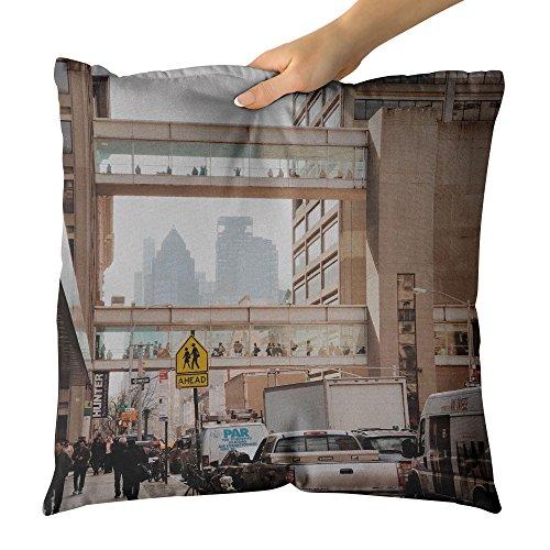 Westlake Art Walker Walk - Decorative Throw Pillow Cushion - Picture Photography Artwork Home Decor Living Room - 16x16 (Exo Walker)