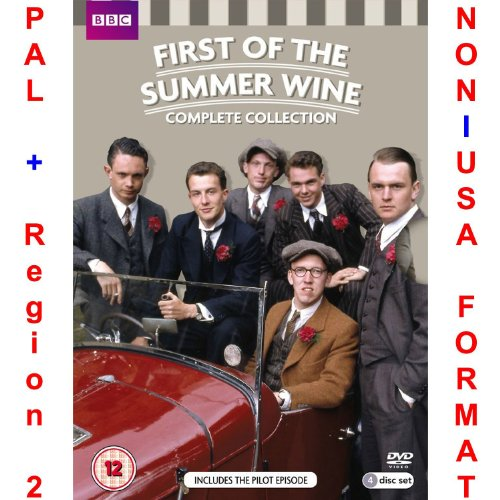 (First of the Summer Wine: Complete Collection (Series 1-2 + Pilot Episode) [NON-U.S.A. FORMAT: PAL + REGION 2 + U.K. IMPORT])