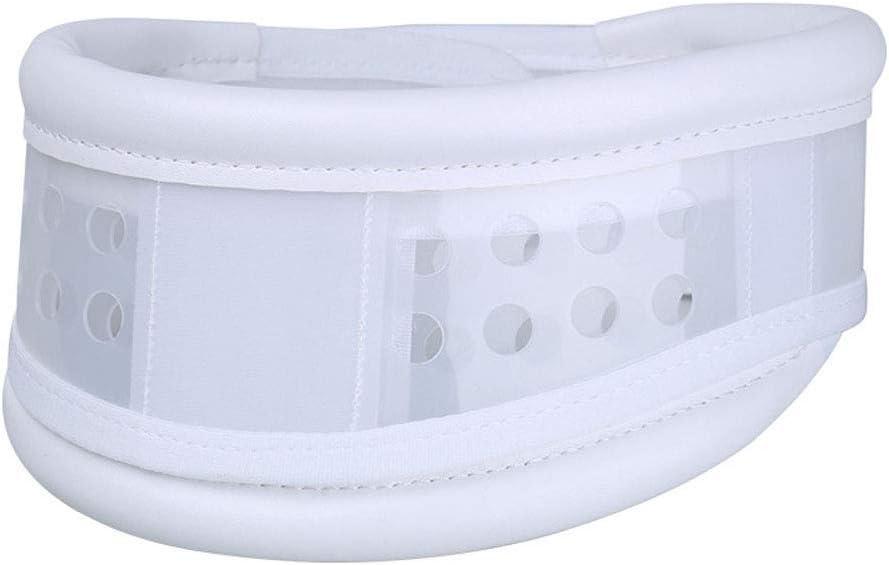 SUPVOX Collarín Cervical Ajustable Terapia para Recuperación del dolor Lesiones Aliviar Dolor de Migrañas para Cuello Rígido Tamaño S (Blanco)