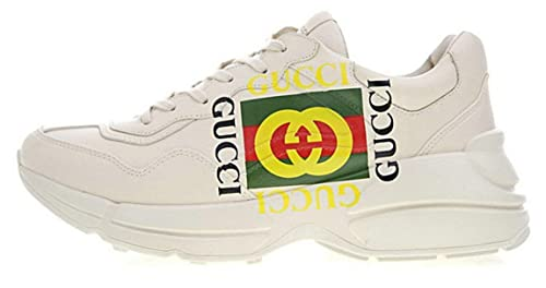 special for shoe cheapest fashion style Gucci Rhyton Vintage Logo White Green Gucci Chaussure de ...
