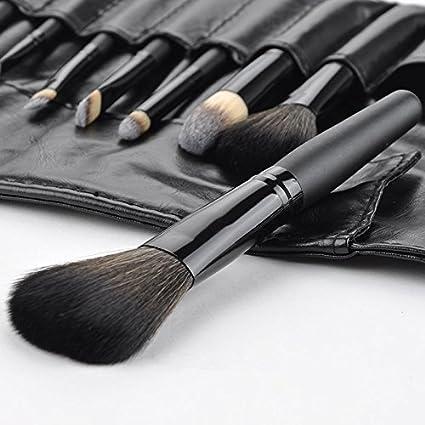 Beau Belle Brochas Maquillaje - 9 Unidades Make Up Brush Set - Kit Brochas Maquillaje + Estuche - Pinceles Maquillaje - Maquillaje Profesional - Makeup Brushes: Amazon.es: Belleza