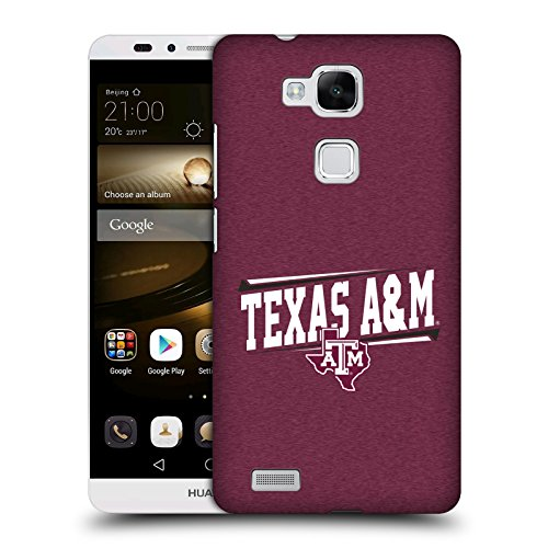 Official Texas A&M University TAMU Double Bar Hard Back Case for Huawei Ascend Mate7