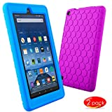 Kutop New Case for Fire 7 (2015),Silicone Waterproof Fire 7 Tablet Case Cover (2015 Release) Kids Friendly Light Weight Protective Cover case for fire 7 (2015)