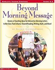 Beyond Morning Message (Scholastic teaching strategies)