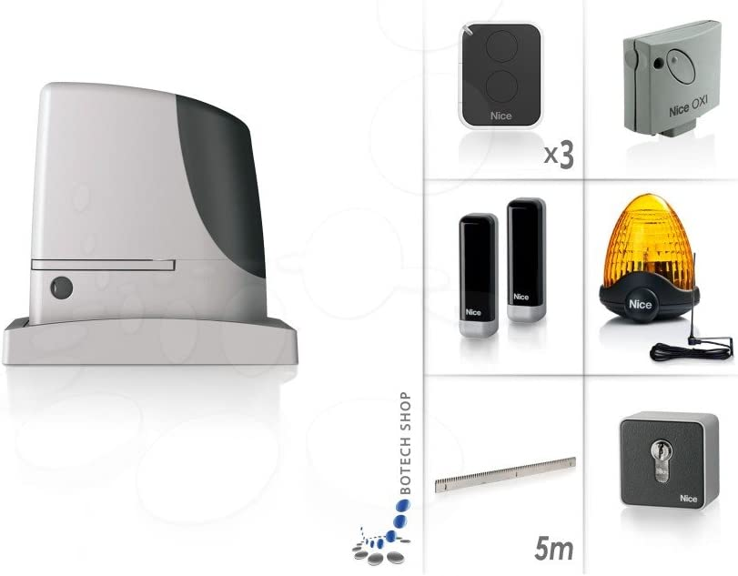 Puerta corredera nice RUN1800P (Set XL): Amazon.es: Iluminación