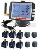 10 Tire RV Flow-Through & Cap Sensors Tire Pressure Monitoring System (TPMS)