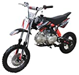 Coolster 125cc Manual Clutch Mid Size Cali Legal Dirt Bike - XR-125 - Single cylinder - 4-stroke - Air-cooled by SaferWholeSale