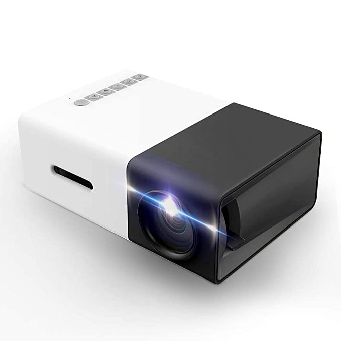 Amazon.com: Proyector, LoongSon Mini Proyector LED Portátil ...