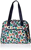 Vera Bradley Women's Go Anywhere Carry-on, Cuban Stamps