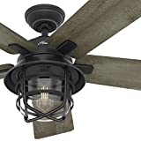 Hunter Fan 54  Weathered Zinc Outdoor Ceiling Fan  (Small Image)
