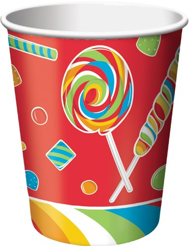 8-Count 9-Ounce Hot/Cold Beverage Cups, Sugar