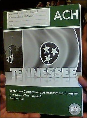Tennessee Comprehensive Assessment Program Tcap Achievement Test