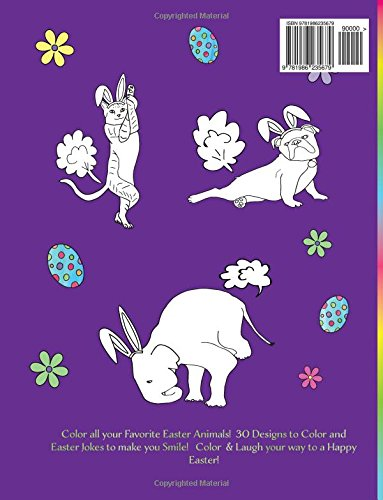 Farting Animals Easter Edition Easter Bunny Coloring Book With