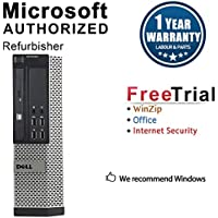 Dell 7010 Ultra Small Form Business High Performance Desktop Computer mini(Intel Core i3 3220 3.3G,8G RAM DDR3,500G HDD,DVD,WIFI,Windows 10 Professional)+NEC 22 LCD(Certified Refurbished)