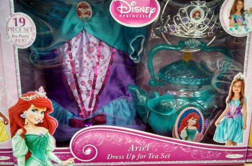 Disney Princess Ariel Dress up Tea Set [Toy]