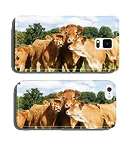 Cow and calf Limousin breed cell phone cover case Samsung S3 mini
