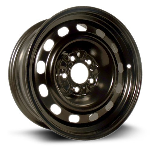 RTX, Steel Rim, New Aftermarket Wheel, 16X7, 5X114.3, 70.6, 11, black finish X40827 ()