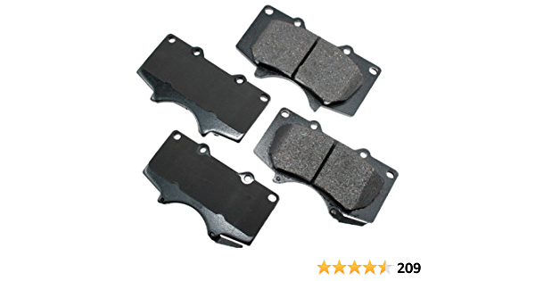 Akebono  ACT1611 Frt Ceramic Brake Pads