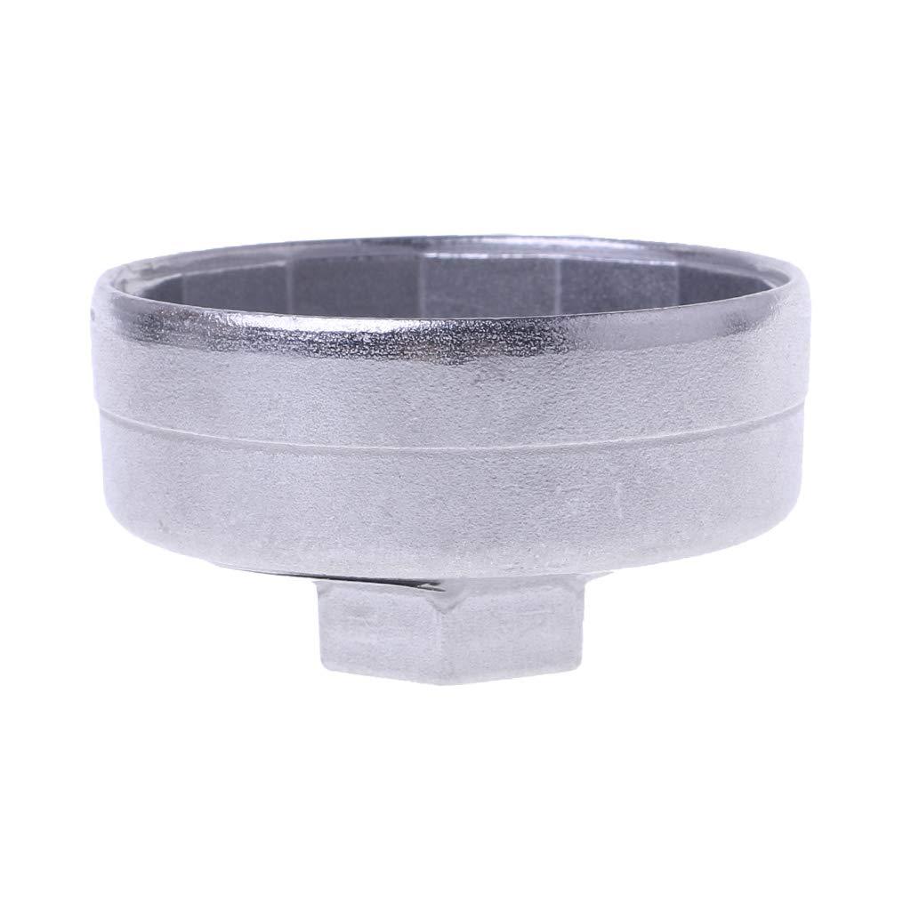 Lergo-FR 1 PCS 65mm 14 Fl/ûtes Cap Filtre Cl/é /À Filtre /À Huile De Voiture Socket Remover Outil pour Toyota A8 Honda Marque