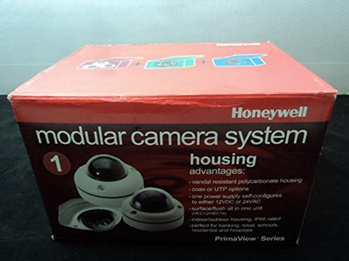 Honeywell Mini Ademco (Honeywell Ademco HEC14C Vandal Resistant Mini-Dome Coax Camera Housing T20544)
