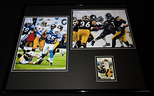 - Ben Roethlisberger Signed Framed 16x20 Photo Set Steelers The Tackle & Snow