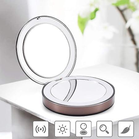 Specchio Compatto Portatile Specchio per Viaggio, Specchio Tascabile