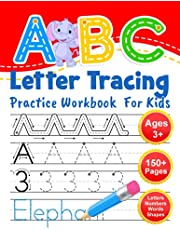 ABC Letter Tracing Practice Workbook for Kids: Learning To Write Alphabet, Numbers and Line Tracing. Handwriting Activity Book For Preschoolers, Kindergartens.