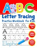 ABC Letter Tracing Practice Workbook for