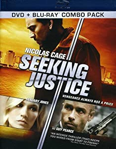 Cover Image for 'Seeking Justice [Two Disc Blu-ray/DVD Combo]'