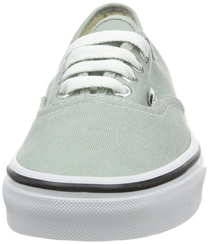 Vans U Authentic - Zapatillas unisex Verde (Grün ((Brushed Twill)))
