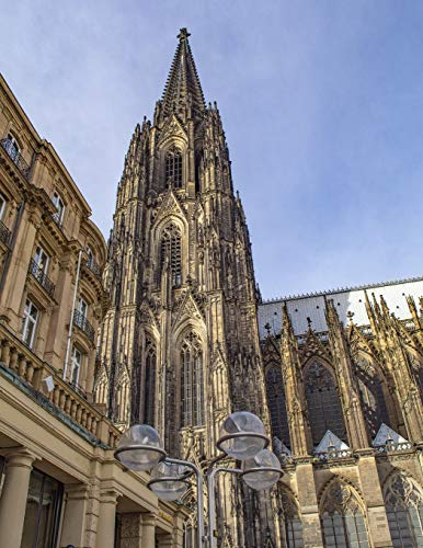 Notebook: Cologne Germany Europe travel architecture German European style history perfume [Idioma Inglés] por Wild Pages Press