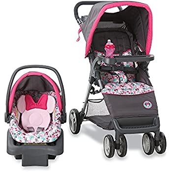 Amazon Com Disney Minnie Mouse Infant Travel System Baby