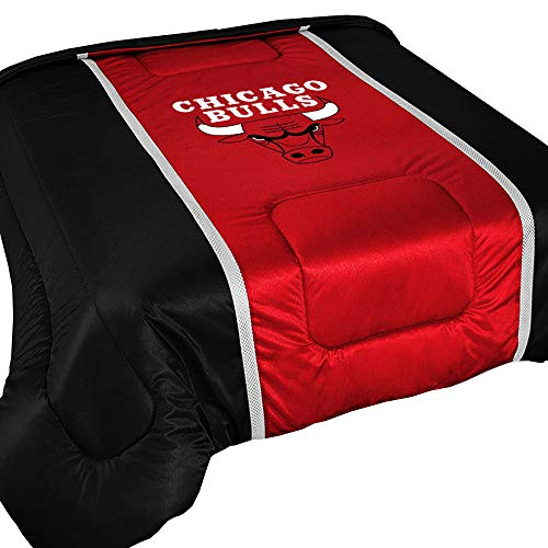 Twin Bed Sideline Comforter - NBA Chicago Bulls Twin Comforter Sidelines Basketball Bed