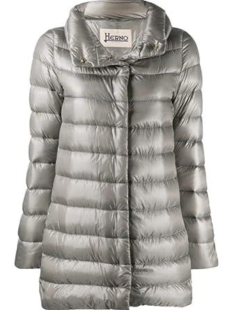 pretty nice 2e269 013d6 Herno Luxury Fashion Donna PI0505DIC120179420 Grigio Piumino ...
