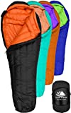 Search : Hyke & Byke Goose Down Sleeping Bag for Backpacking – Eolus 0 Degree F 800 Fill Power Ultralight 4 Season Men's and Women's Lightweight Mummy Bags for Cold Weather