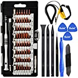 Kaisi 70 in 1 Precision Screwdriver Set Professional Electronics Repair Tool Kit with 56 Bits Magnetic Driver Kit, Anti Static Wrist Band, Spudgers for iPhone, Tablet, MacBook, PC, Xbox, Game Console