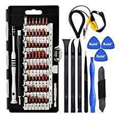 Kaisi 70 in 1 screwdriver set is a multi-functional electronic repair tool set, this tools kit fits into the devices around our daily life both home and work.        ★We've got a pulse on how electronics are held together. Armed with t...