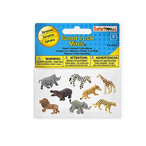 Safari 100224 Good Luck Minis Fun Packs Savanna ()