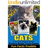 Cat Trivia Kindle Unlimited Kids Games: Childrens Games For Kindle Fire