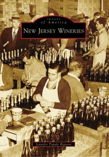 New Jersey Wineries (Images of America)